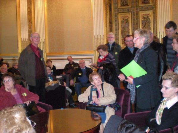 Visite du Sénat 2010