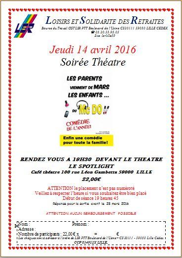 Theatre avril